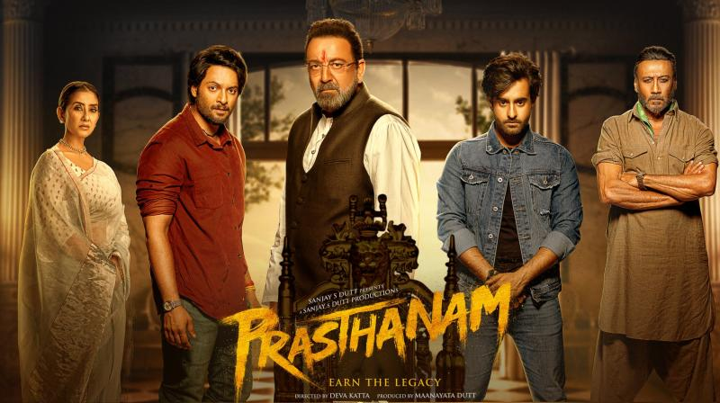 Prassthanam movie review and rating: Critics' verdict on Sanjay Dutt's film