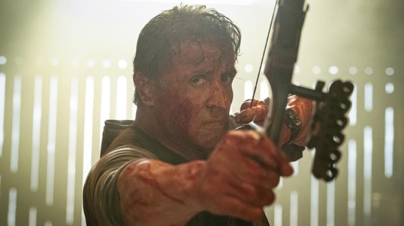 Sylvester Stallone in 'Rambo: Last Blood'.