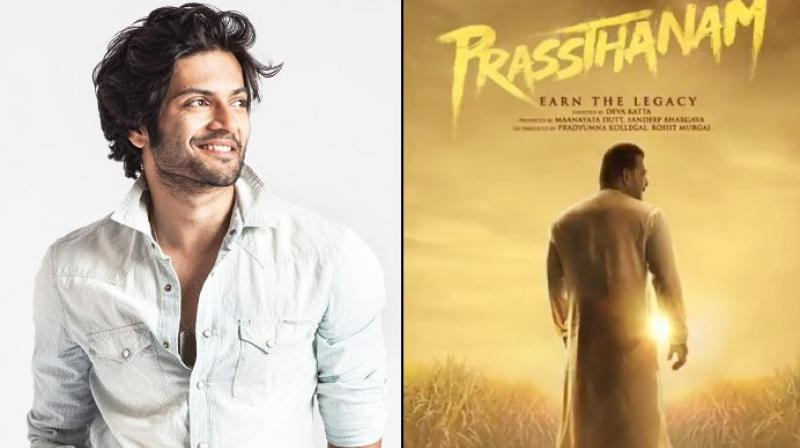 Ali Fazal will be seen as Sanjay Dutt's in the film.