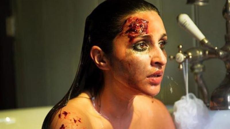 Parineeti Chopra in the still from her upcoming film. (Photo Courtesy: Instagram)