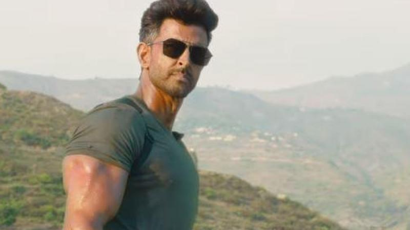 Hrithik Roshan in WAR. (Image Source: YouTube/ YRF)