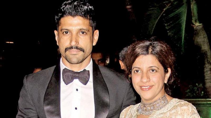 Farhan Akhtar and Zoya Akhtar.