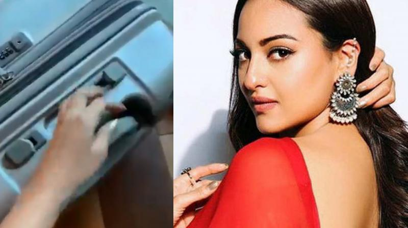 Sonakshi Sinha accused the carrier of breaking her travel bag. (Photo: Twitter)