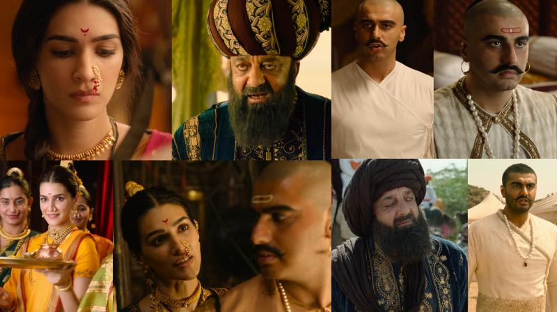 Panipat's trailer has to do with courage, bloodshed and triumph