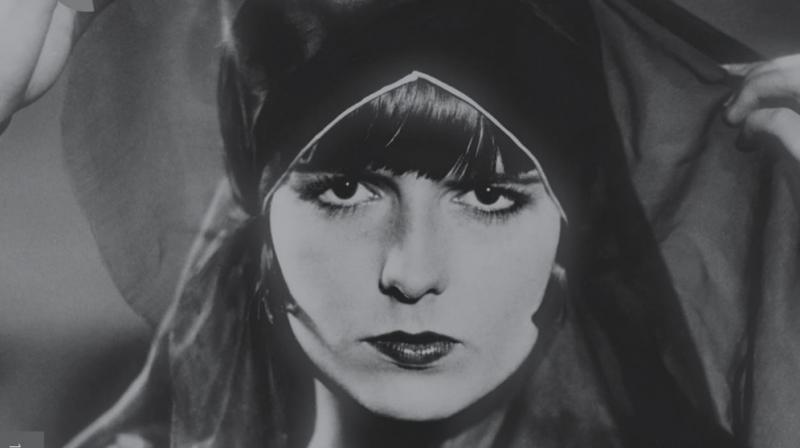 Poster of G.W. Pabst's 'Pandora's Box'.