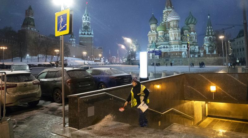 It's then distributed free to enable people to eat and stock up on supplies and it's particularly welcome in winter when city temperatures can drop to -20 Celsius. (Photo: AP)