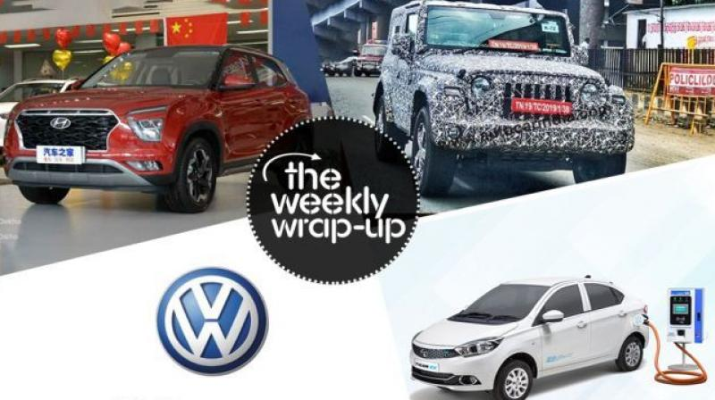 Top 5 car news of the week: 2020 Hyundai Creta, Mahindra Thar, BS6 cars