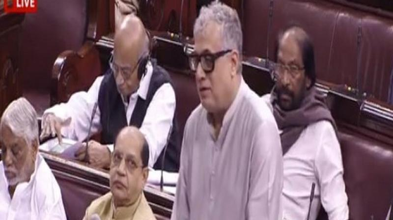 Apart from Jaitley, the Rajya Sabha paid rich tributes to Jagannath Mishra, Sukhdev Singh Libra, Ram Jethmalani and Gurudas Dasgupta, who served as lawmakers in the Upper House of the Parliament. (Photo: ANI)