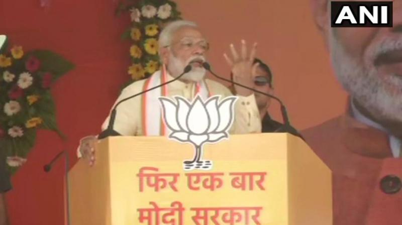 Modi said the opposition parties have no option left but to accept defeat. (Photo: ANI)