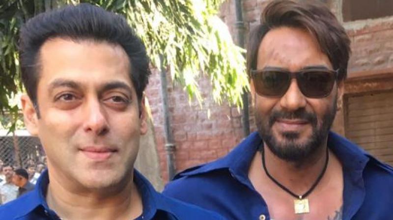 Salman Khan and Ajay Devgn