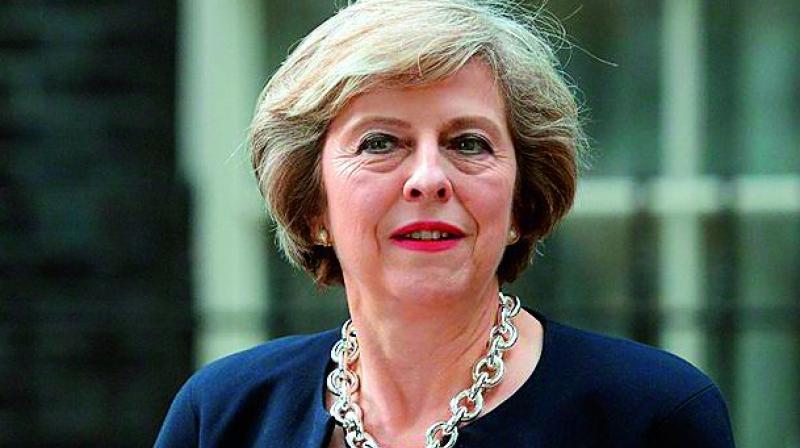 British Prime Minister Theresa May (Photo: File)