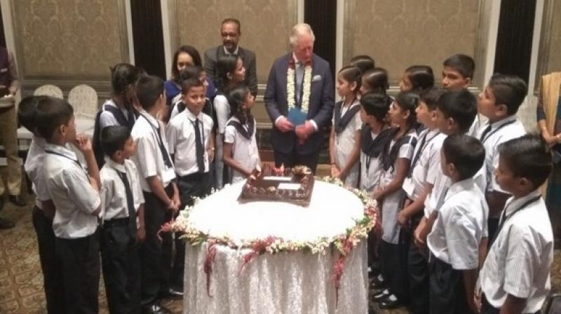 Prior to this, Prince Charles attended a round-table conference at the Taj Mahal hotel with Indian business leaders on sustainable market initiatives.  (Photo: ANi)