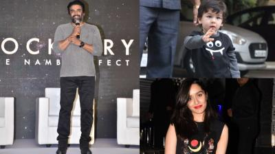 It was the occasion of Halloween when R. Madhavan launched his upcoming movie Rocketry's trailer, while Shraddha Kapoor, Taimur Ali Khan and others were still in the mood to celebrate!