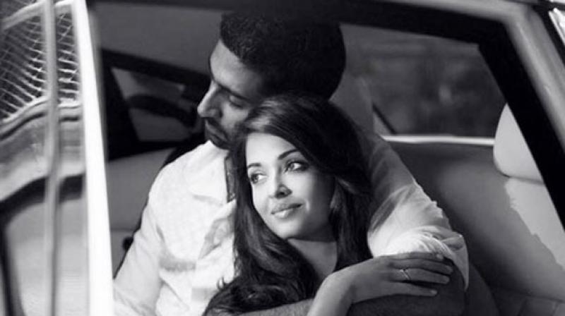Abhishek Bachchan and Aishwarya Rai Bachchan from a photoshoot. (Photo: Instagram/Abhishek Bachchan)
