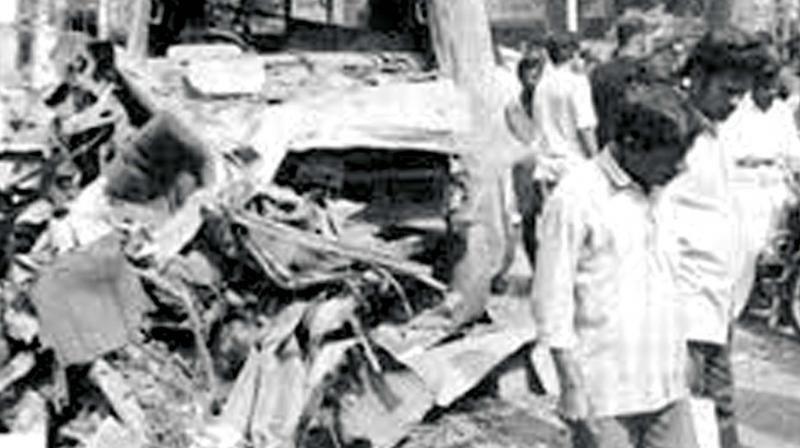 Coimbatore bombings in 1998.  (File Picture)