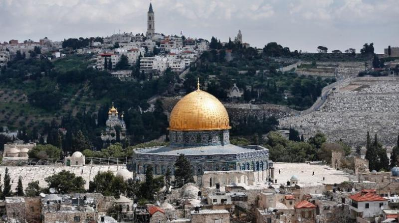 Ownership of the Al-Aqsa mosque compound and the Temple Mount in Jerusalem, is one of the most contentious issues between Israel and the Palestinians. (Photo: AFP)