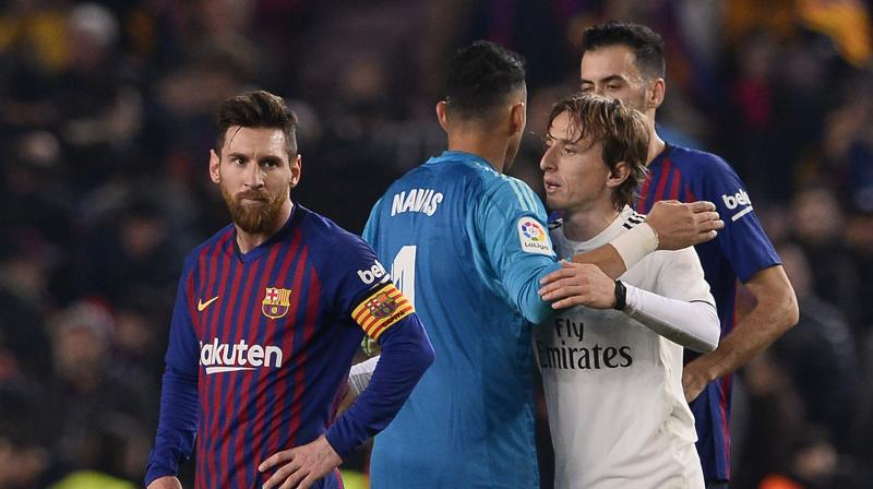 Messi, who had been struggling with a thigh problem, and Bale, who faces a fight for place after recovering from a calf injury, both came on after the hour but neither could inspire a winner. (Photo: AFP)