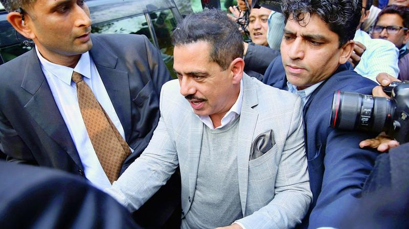 While Vadra was grilled for the first time for about five-and-a-half hours, he was questioned the second time for about 9 hours. (Photo: AP | File)