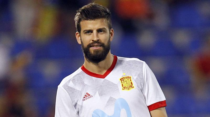 Pique is the latest member of the great World Cup-winning Spanish side to quit the national team, following the likes of former Barcelona teammates Xavi Hernandez and Andres Iniesta. (Photo: AP)