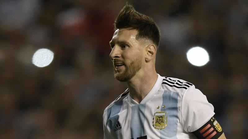 Messi, who has already guided Barcelona to La Liga and Copa del Rey title this season, will eye for international honour when Argentina kick start their campaign against Iceland on June 16. (Photo: AFP)