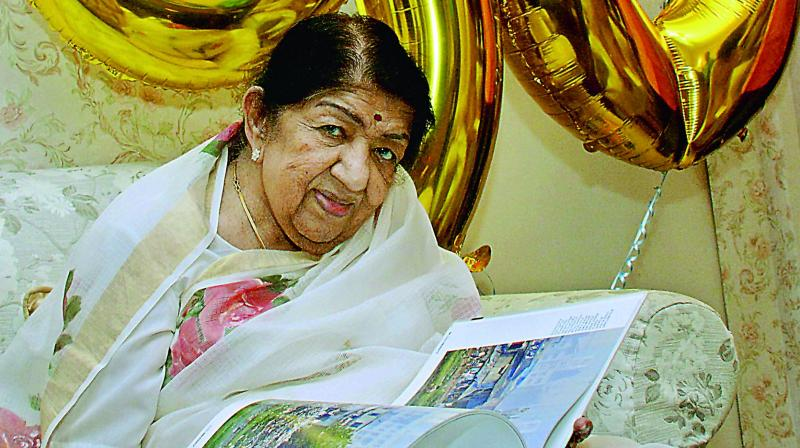 Lata Mangeshkar hospitalised for pneumonia