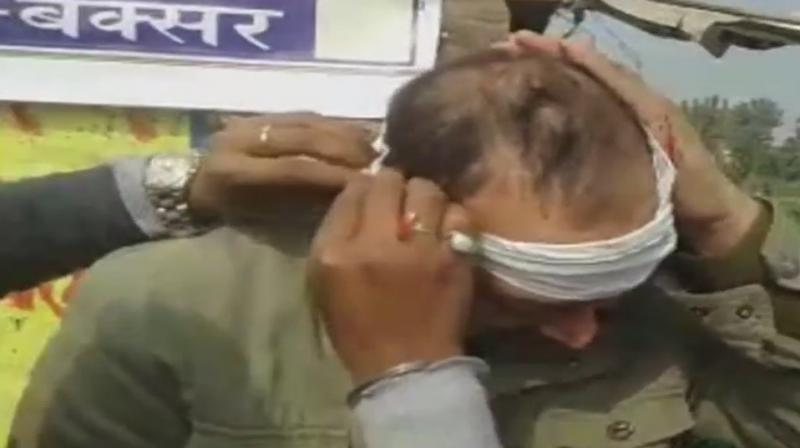 Bihar: CM Nitish Kumar's convoy attacked in Nandar, Buxar