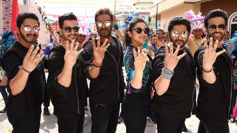 A still from 'Golmaal Again.'