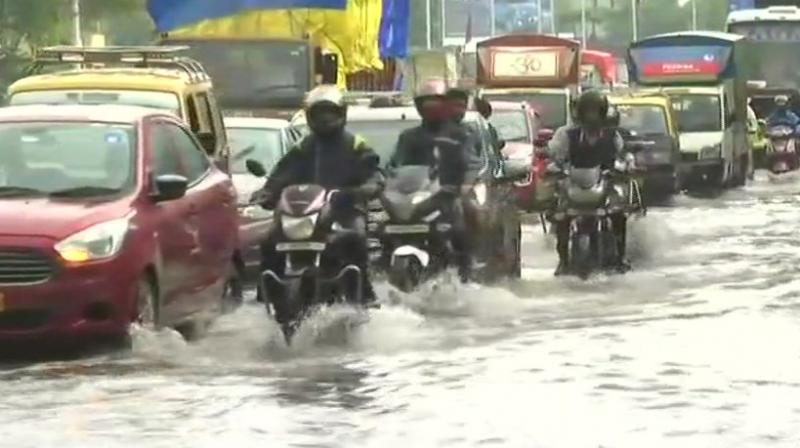 The fresh inflows came as a relief to meet drinking and irrigation water needs in TS districts. (Photo: ANI | Twitter)