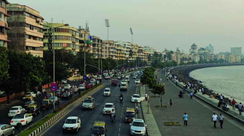 Mumbai has seen real household income growth outpace real house price growth by 12.4 per cent, indicating an improvement in affordability. (Photo: File/AFP)