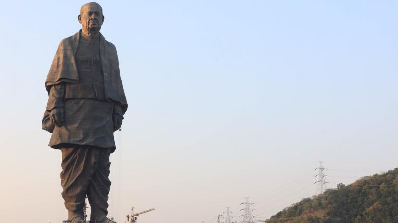 On October 31, the world's tallest statue, the Statue of Unity dedicated to Sardar Vallabhbhai Patel, was unveiled by Prime Minister Narendra Modi. (Photo: @narendramodi/Twitter)