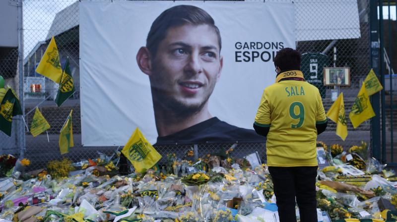 The light aircraft was carrying the 28-year-old footballer to his new Premier League team Cardiff City when it disappeared near Guernsey on January 21, along with 59-year-old pilot David Ibbotson. (Photo: AP)