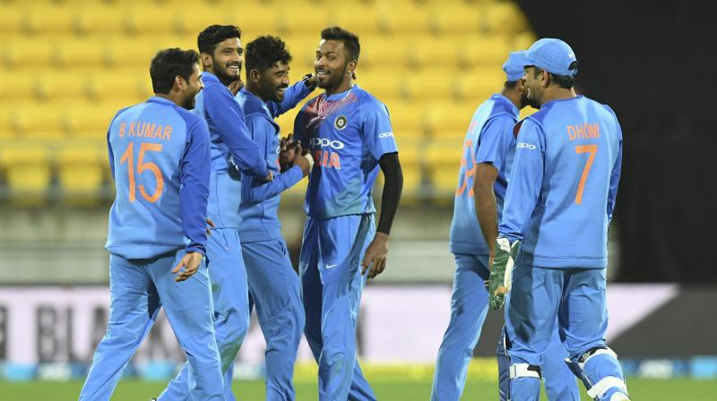 Sharma claims record as India cruise past NZ