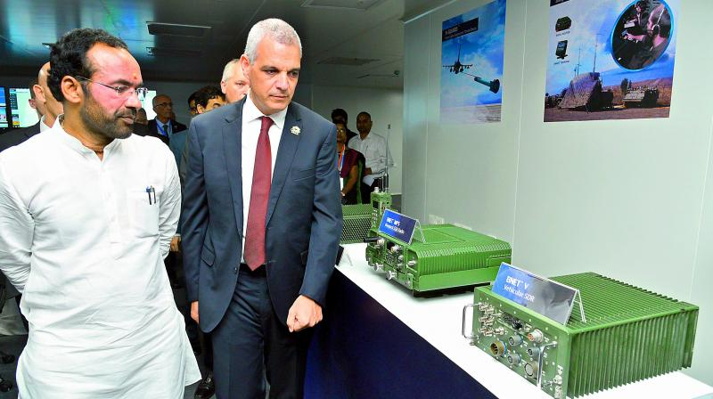 MoS G. Kishan Reddy takes a tour of the facility. (Photo: DC)