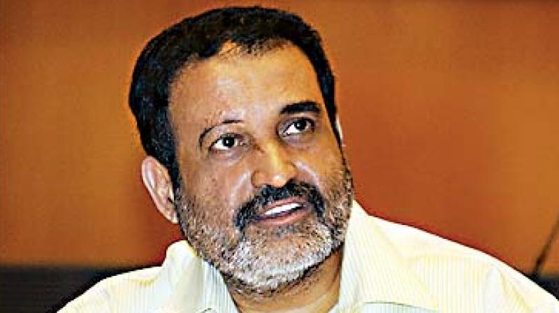IT industry veteran T V Mohandas Pai.