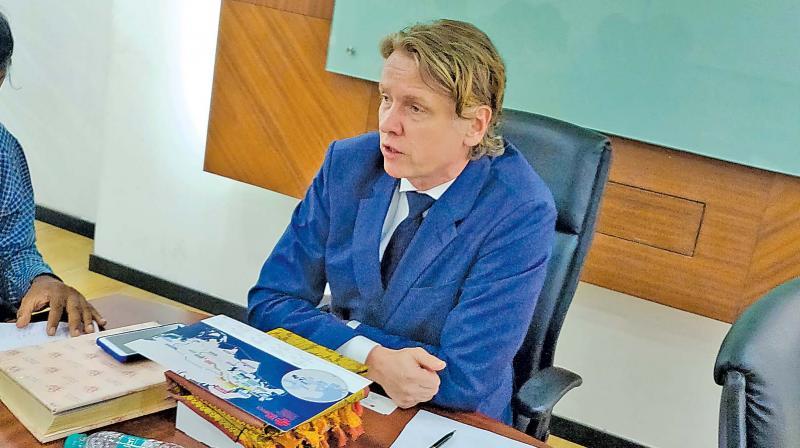 Artis Bertulis, Latvian Ambassador to India.