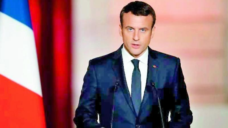 'What is new at the European scale is that the rise of extremism, especially coming from the far right, is everywhere,' Macron said. (Photo: File)
