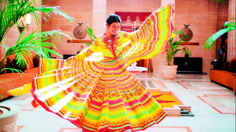 Desi girl and new bride Priyanka is finding herself in a soup barely hours after she tied the knot with beau Nick Jonas in a big, fat Indian wedding at Jodhpur.