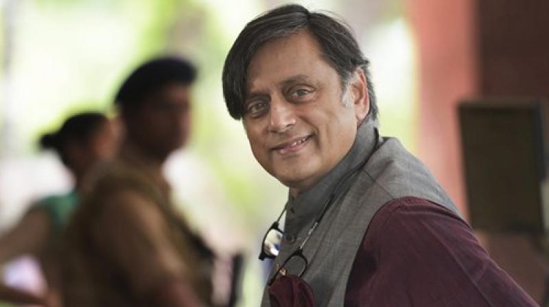 Senior Congress leader Sashi Tharoor is Member of Parliament from Thiruvananthapuram Lok Sabha constituency. (Photo: PTI)