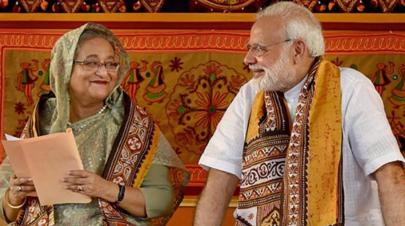 India and Bangladesh last year resolved to step up anti-terror cooperation. (Photo:File)