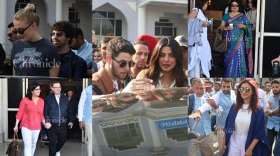 After the much-spoken-about DeepVeer wedding, Nickyanka wedding is now on the cards, and it seems to have begun as the whole of Chopra and Jonas family made their way to Jodhpur.