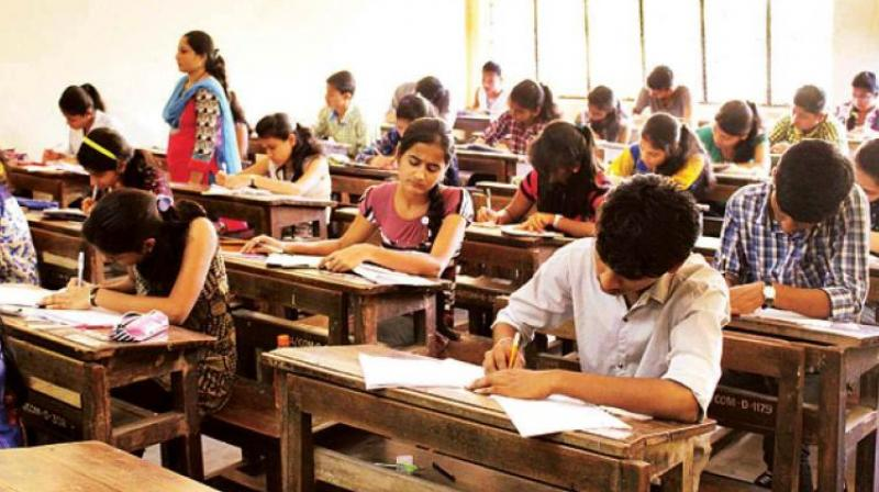 The due date for the payment has been extended from April 22to April 25, 2018 for ensuing intermediate supplementary examination which will be held in May or June in Telanagana state. (Representational Image)