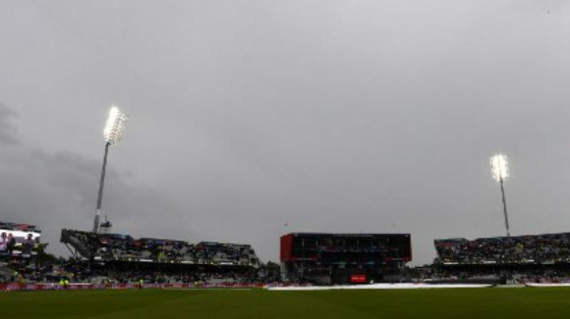 Intriguingly, the league match between India and New Zealand was abandoned due to rain without a single ball being bowled. (Photo:AFP)