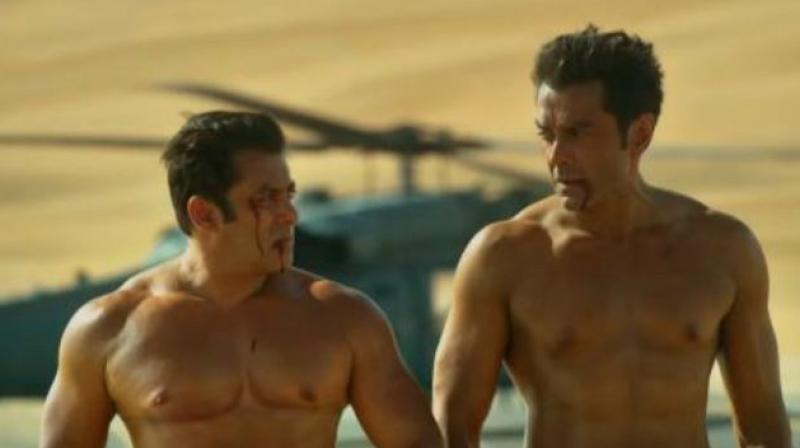 Salman Khan and Bobby Deol.