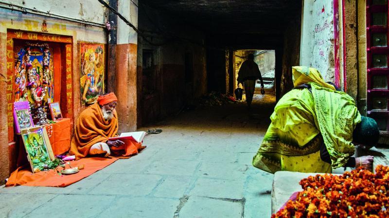 Showing a different facet of Benaras