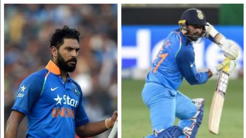 Out of favour Indian wicket-keeper batsman Dinesh Karthik, who was last seen during the 2019 semi-final defeat against New Zealand, has recently shared an experience on a talk show 'Breakfast with Champions'. (Photo:AFP)