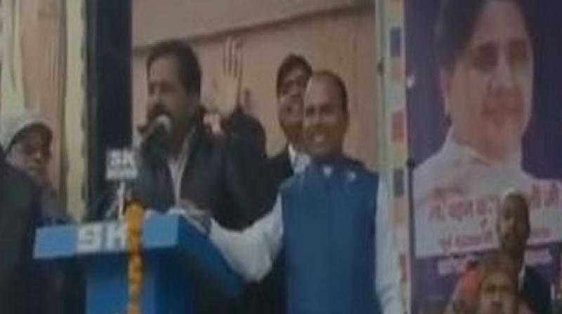 Watch: Will thrash BJP in 2019 LS polls, no need to worry, warns BSP legislator