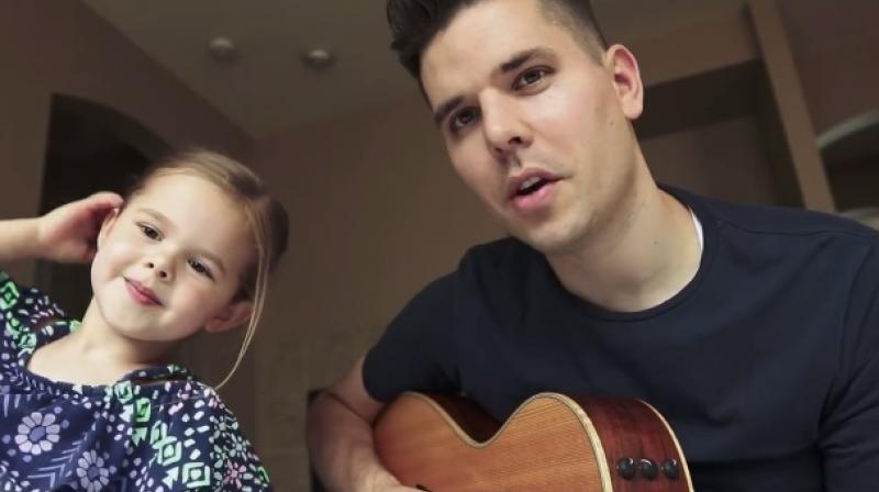 Video: Dad and daughter singing together will melt your hearts!