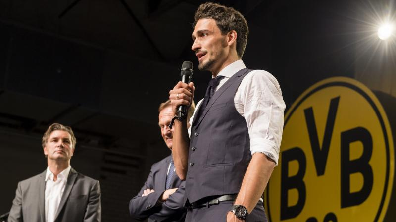 After Arjen Robben, Franck Ribery and Rafinha, Hummels is the latest senior player to leave Bayern in 2019. (Photo: Borussia Dortmund/Twitter)