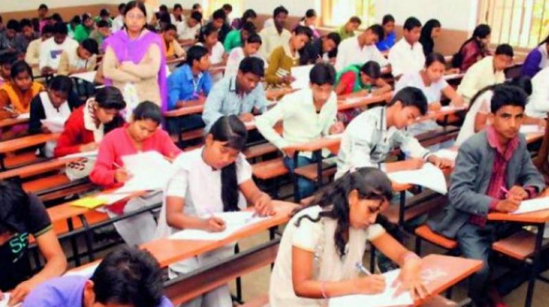 The district educational officer visited five examination centres, the observer visited three examination centres an a flying squad visited 71 examination centres.