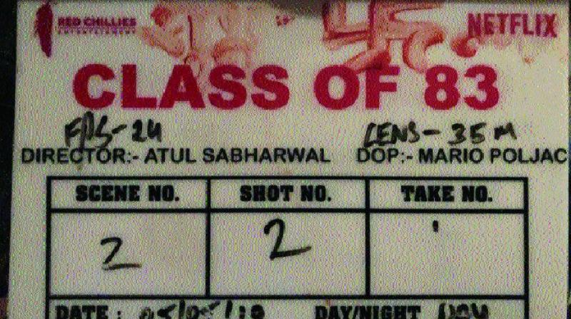 "Titled Class of 83, starring Bobby Deol the show is directed by Atul Sabharwal. An excited Bobby took to Twitter and said, ""Excited to venture into the web world with #ClassOf83 a @NetflixIndia original film by @sabharwalatul produced by @iamsrk @_GauravVerma @RedChilliesEnt (sic)."""